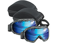 Speeron 2er-Set Superleichte Hightech-Ski & Snowboardbrillen inkl. Hardcase