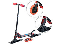 Speeron Klappbarer 2in1-Tretroller und -Snowkick-Schlitten für Kinder, 125 mm; Waveboards Waveboards